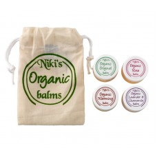 Gift set of Niki's Organic Balm 10ml