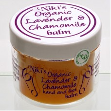Niki's Organic Lavender and Chamomile Balm 50ml